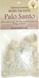 Loose Resin Incense: Palo Santo Resin (1/2oz bag)
